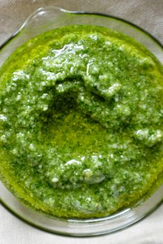 NYT Cooking: Pesto is a mouthful of bright summer — basil made more so.  You can buy it in a jar or in the refrigerator section of your grocery story, but there is nothing better than making it yourself. Fresh basil can be found in abundance at farmers' markets in the summer. Just clean, take the stems off and throw the leaves in a food processor with nuts and garlic. D...