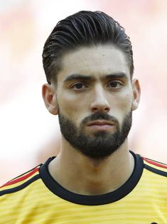 Yannick Carrasco of Belgium during the 2018 FIFA World Cup Russia group G match between Belgium and Tunisia at the Otkrytiye Arena on June 2018 in Moscow, Russia Consigue fotografías de noticias de alta resolución y gran calidad en Getty Images World Cup 2018, Fifa World Cup, Men In Uniform, Soccer Players, Moscow Russia, Crushes, June, Bread, Group