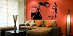 30+ Wall stickers to figure on your home or office wall