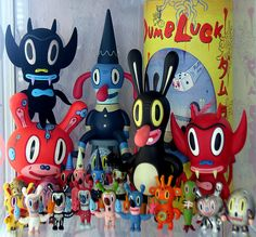 damn! I used to have a bunch of these.  Gary Baseman collection