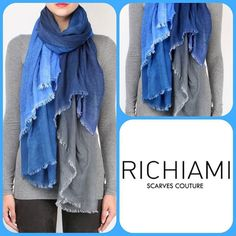A touch of blue for your fall winter outfit with #richiamiscarves  #scarves and #fashionaccesories #madeinitaly for #fashionlovers  #fashiongram #fashionatyle #instastyle #fashiontrends #instatrends #instatrendy #fashionoutfit #ootd #fallwinter #fashionpost #fashionaddict #fashioninsta #instacool #instalook #instafashion - http://ift.tt/1HQJd81