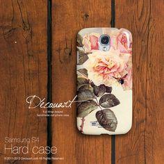 Floral Samsung Galaxy S3 Fall Samsung Galaxy S4 Fall von Decouart, $24.99