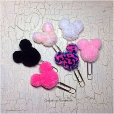 A personal favorite from my Etsy shop https://www.etsy.com/listing/254262983/cute-mouse-ears-pom-pom-planner