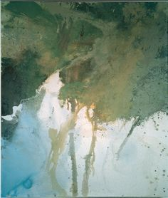 Source of the Thames - Michael Andrews - James Hyman: Fine Art and Photographs Contemporary Landscape, Abstract Landscape, Landscape Paintings, Abstract Trees, Contemporary Artists, Abstract Art, Hip Hop Art, A Level Art, Cool Landscapes