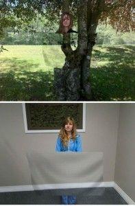 Invisibility cloth