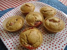 whole wheat strawberry muffins....use half blueberries for berry berry good muffins!