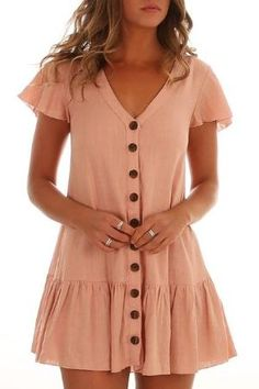 Lets Talk Dress Peach by sheree