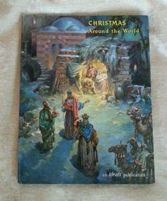 Christmas Around the World, Ideals, Van B Hooper, Vintage 1961 HC Traditions in Books | eBay