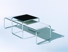 Coffee table / Bauhaus design / indoor / by Marcel Breuer LACCIO Knoll international