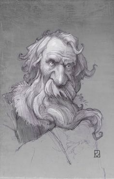 Sketch ---- Photoshop and Corel Painter