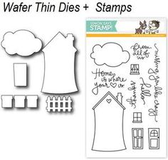*Simon Says STAMPtember™ DIE & STAMPS SET WHERE THE HEART IS SetWH5