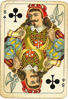 Dutch playing cards from 1920-1927: Jack of Clubs | Flickr - Photo Sharing!