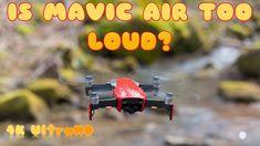 How Noisy is Mavic Air?
