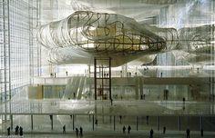 La Nuvola building designed by Massimiliano Fuksas host the new Congress in the district Eur of Rome. / La Nuvola es el edificio proyectado por Massimiliano Fuksas como sede del nuevo Palacio de Congresos en el barrio de Eur de Roma.
