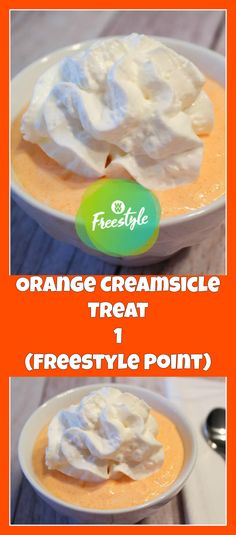Orange Creamsicle Treat (1 Freestyle Point) – weight watchers cooking