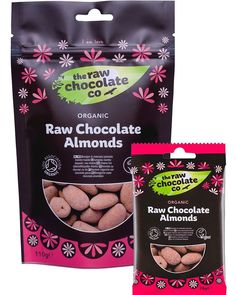 We've got 20% off our Raw Chocolate Almonds this month, shop now with this code: LoveLoveLove (case sensitive, available while stocks last) Enjoy!