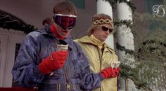 Bet you never thought we'd be looking to Dumb and Dumber for sartorial cues! Laughter The Best Medicine, Apres Ski, Dumb And Dumber, Skiing, Pop Culture, Halloween Costumes, Fashion Outfits, Fashion Fashion, Fashion Ideas