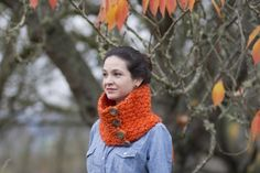 A Punch of Color Neck Warmer by Oriana Laura | Project | Knitting / Scarves, Shawls, & Cowls | Kollabora