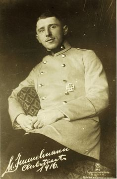 Max Immelmann (21 September 1890 – 18 June 1916) was the first German World War I flying ace. He was a great pioneer in fighter aviation and is often mistakenly credited with the first aerial victory using a synchronized gun. His name has become attached to common flying tactics, and remains a byword in aviation.