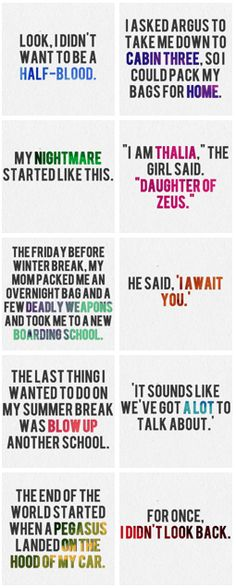 Quotes from PJO.