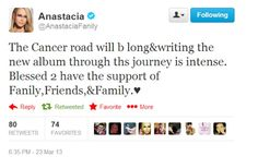 NEWS: Anastacia revealed thoughts about her cancer and the new album. Check it out!