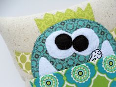 Cutest tooth fairy pillow ever!  Tutorial by Just Another Hang Up