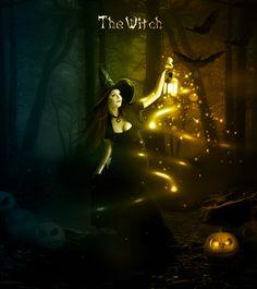 Halloween Night Witch Photoshop Manipulation Tutorial - Photoshop tutorial | PSDDude