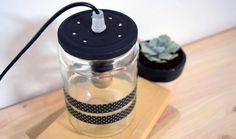 DIY : Fabriquez une lampe très jolie avec un bocal