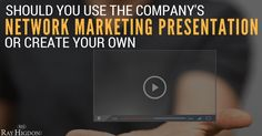 network marketing presentation
