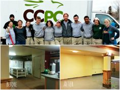 10 AmeriCorps members (from Habitat for Humanity) recently volunteered to give our food pantry a make-over. Check it out!