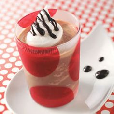 frozen hot chocolate - lets do this for dreams and wishes!
