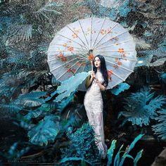 Fotógrafa traz vida aos contos de fada russos em retratos artísticos