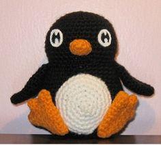 Chubby Penguin Crochet Pattern FREE by KellysAghansandCraft, $5.00