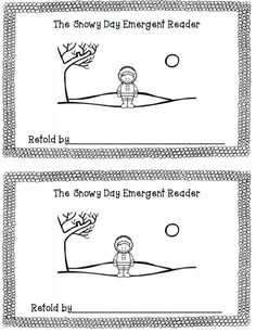 Retelling Pack for Book, The Snowy Day (free; from Preschool Wonders)