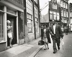 This is how Amsterdam's Red Light District looked like in 1969. More pics: www.amsterdamredlightdistricttour.com