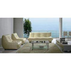 Divani Casa B240 Modern Chic Leather Sofa Set