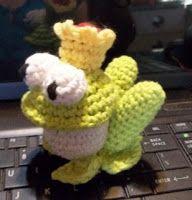 Sheep of Delight: Free amigurumi crochet pattern: The Frog Prince