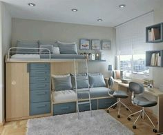Kristen's room.