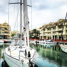 Paseo mañanero por #puertomarina