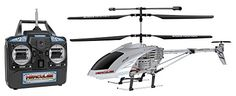 World Tech Toys 3.5CH Gyro Hercules Unbreakable Remote Control Helicopter Super Strong Polymer Body Body Can Take Up To 200 Pounds Of Force Coaxial Rotor & Single Rear Rotor