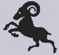 Looking for your next project? You're going to love Zodiac Aries 3 Cross Stitch Pattern  by designer Motherbeedesigns. - via @Craftsy