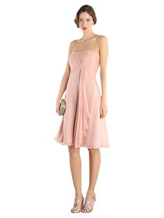 Buy Coast Symphony Short Dress, Soft Pink online at JohnLewis.com - John Lewis