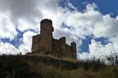 Castillo de Pelegrina, cerca de Sigüenza, Guadalajara, España