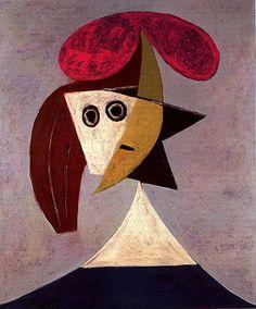 Picasso, 'Femme au chapeau', 1935.