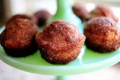 Why eat a calorie-filled donut when you can have a yummy muffin that tastes just as good!