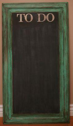 My Dear Trash: Cupboard Door Chalkboard Project!