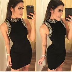 Little Black Dress Outfit, Black Dress Outfits, Look Casual Chic, Trendy Outfits, Cute Outfits, Churidar Designs, Feminine Style, Dress P, African Fashion