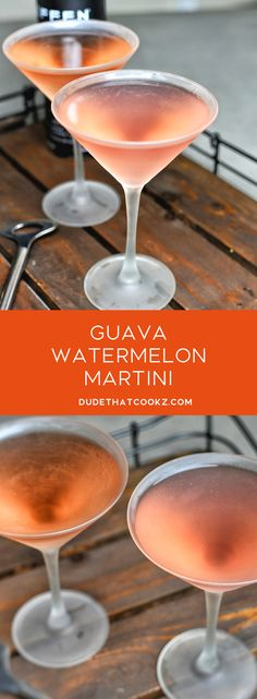 When the weekend calls for cocktails, this Guava Watermelon Martini will kick things off nicely. When the weekend calls for cocktails, this Guava Watermelon Martini will kick things off nicely. Martini Recipes, Drinks Alcohol Recipes, Non Alcoholic Drinks, Fun Drinks, Yummy Drinks, Cocktail Recipes, Beverages, Juice Recipes, Cocktail Drinks
