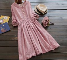 Find More Information about vintage peter pan collar slim waist long sleeve solid color cotton yarn full dress one piece dress,High Quality dress stripe,China yarn agent Suppliers, Cheap dress skate from B&Y Just be yourself on Aliexpress.com