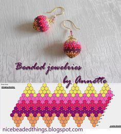 Гарненькі бісерні штучки | Beaded jewelries by Annette: Холі